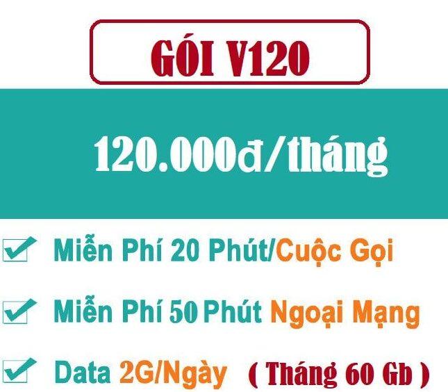 Gói V120K – Gói cước combo thoại + data hấp dẫn cho thuê bao trả trước