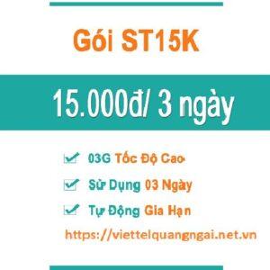 Gói Cước Tiện Lợi ST15K